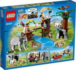 60307 LEGO City Vahşi Hayvan Kurtarma Kampı - Thumbnail