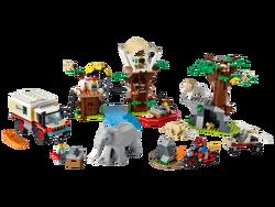 LEGO - 60307 LEGO City Vahşi Hayvan Kurtarma Kampı