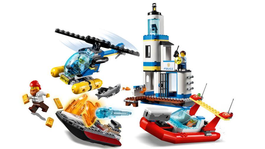 60308 LEGO City Deniz Polisi ve İtfaiyesi