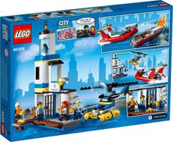 60308 LEGO City Deniz Polisi ve İtfaiyesi - Thumbnail