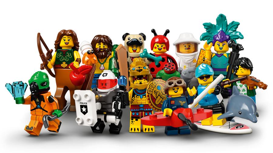 71029 LEGO Minifigures Seri 21