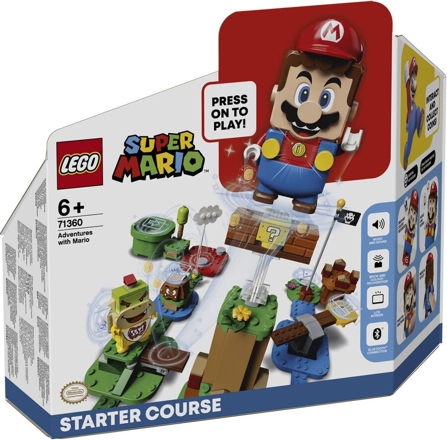 71360 LEGO Super Mario Mario ile Maceraya Başlangıç Seti