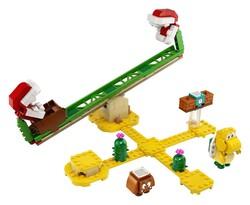 LEGO - 71365 LEGO Super Mario Piranha Plant Güç Kaydırağı Ek Macera Seti