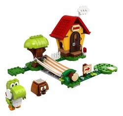 LEGO - 71367 LEGO Super Mario Mario'nun Evi ve Yoshi Ek Macera Seti