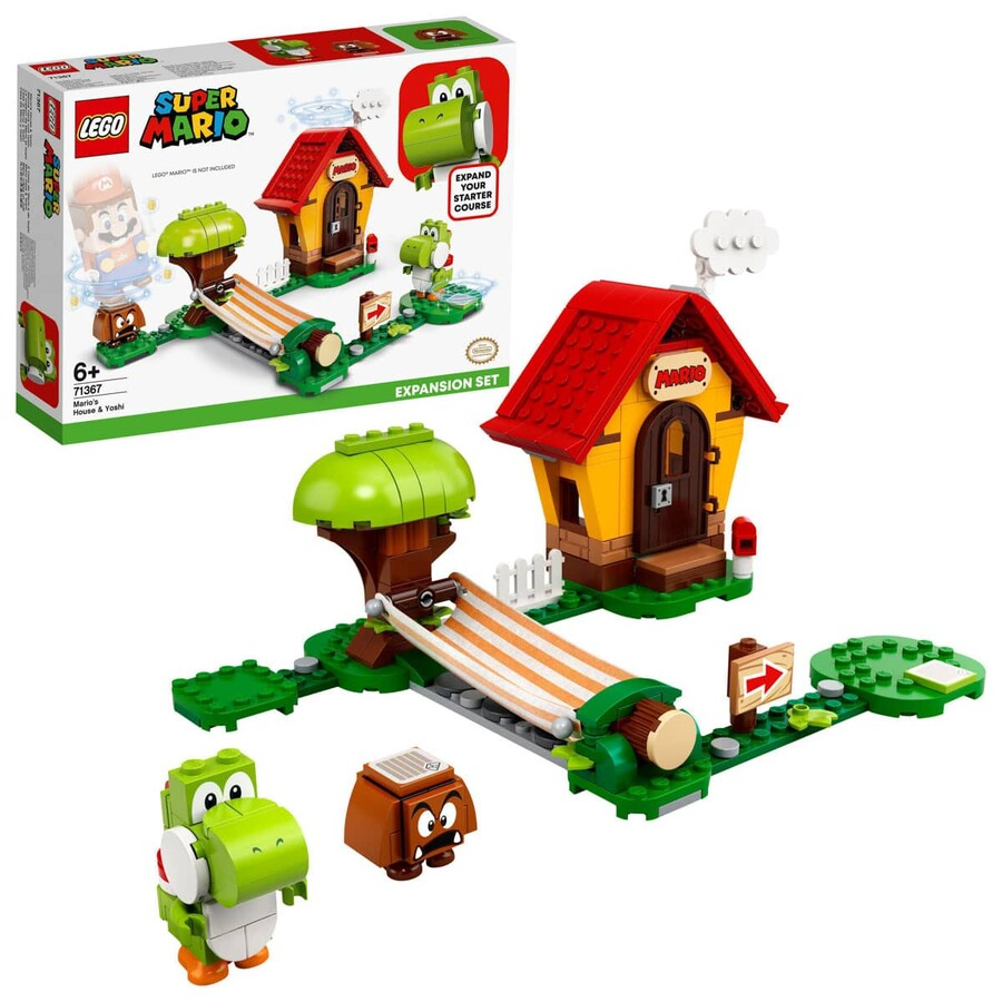 71367 LEGO Super Mario Mario'nun Evi ve Yoshi Ek Macera Seti