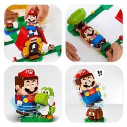 71367 LEGO Super Mario Mario'nun Evi ve Yoshi Ek Macera Seti - Thumbnail