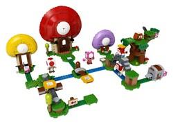 LEGO - 71368 LEGO Super Mario Toad'un Hazine Avı Ek Macera Seti