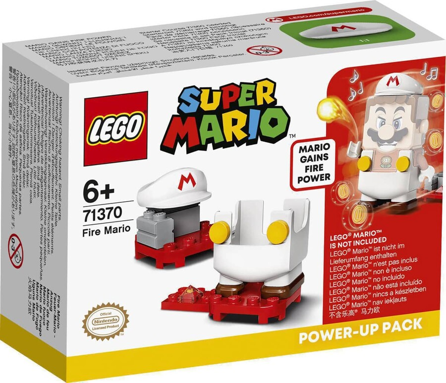 71370 LEGO Super Mario Alevli Mario Kostümü