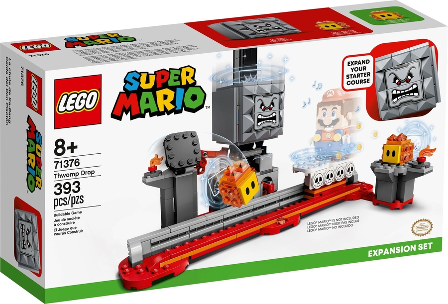 71376 LEGO Super Mario Düşen Thwomp Ek Macera Seti