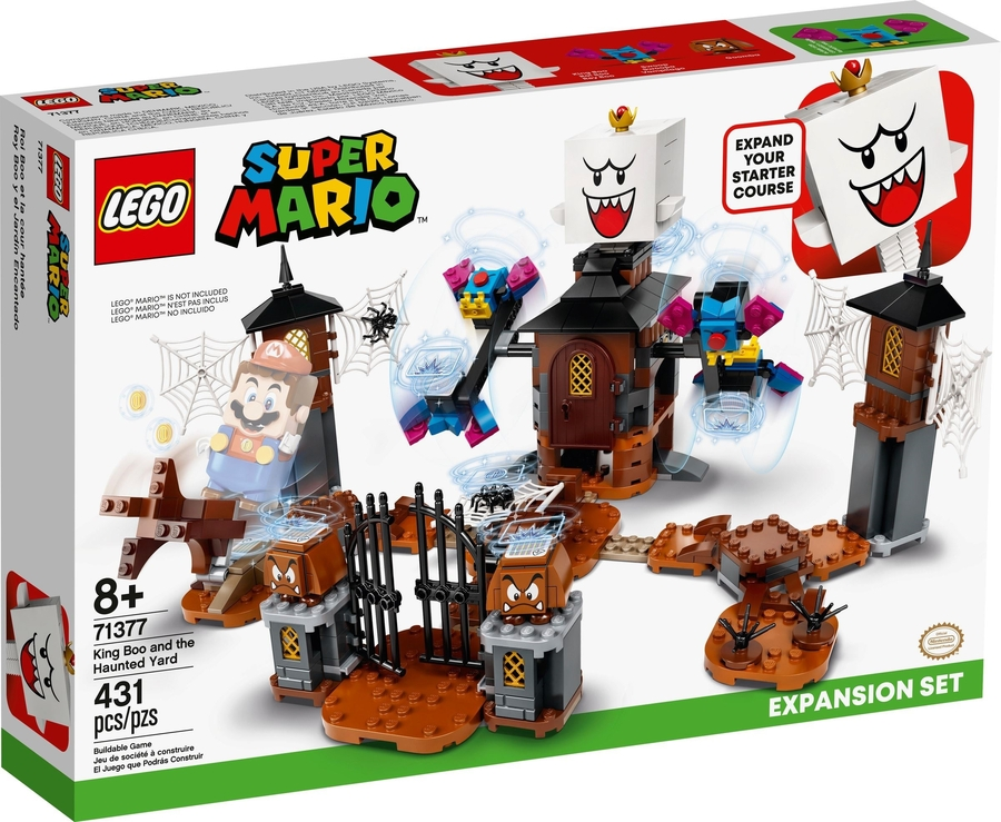 71377 King Boo and the Haunted Yard Expansion Set