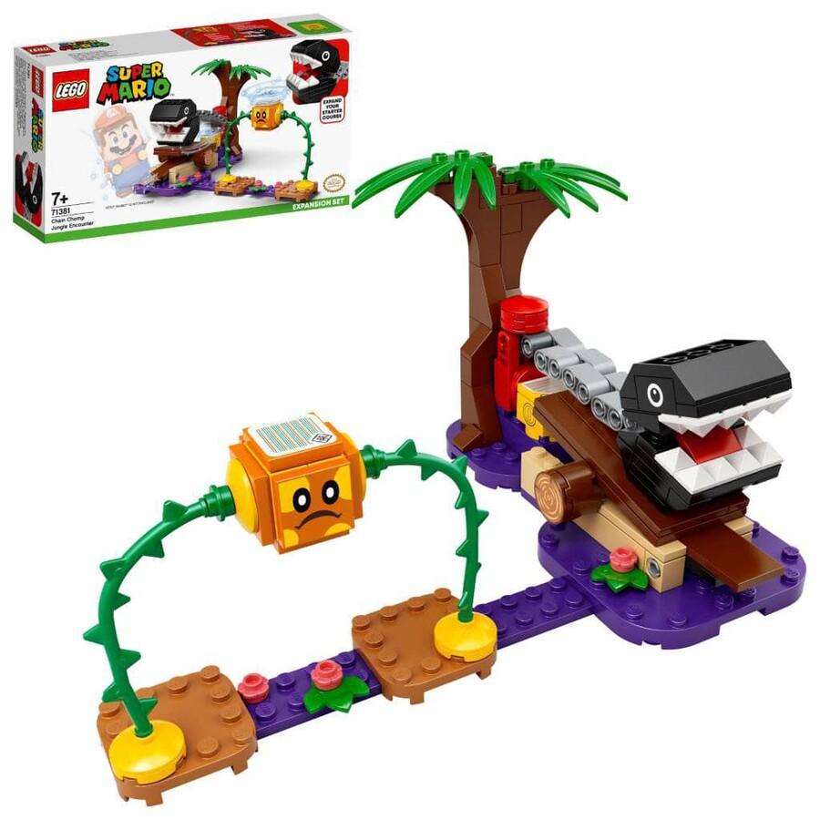 71381 LEGO Super Mario Chain Chomp Orman Karşılaşması Ek Macera Seti