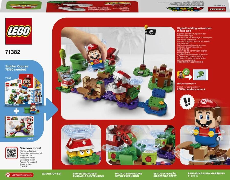 71382 LEGO Super Mario Piranha Plant Şaşırtıcı Engel Ek Macera Seti