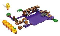 LEGO - 71383 LEGO Super Mario Wiggler'ın Zehirli Bataklığı Ek Macera Seti
