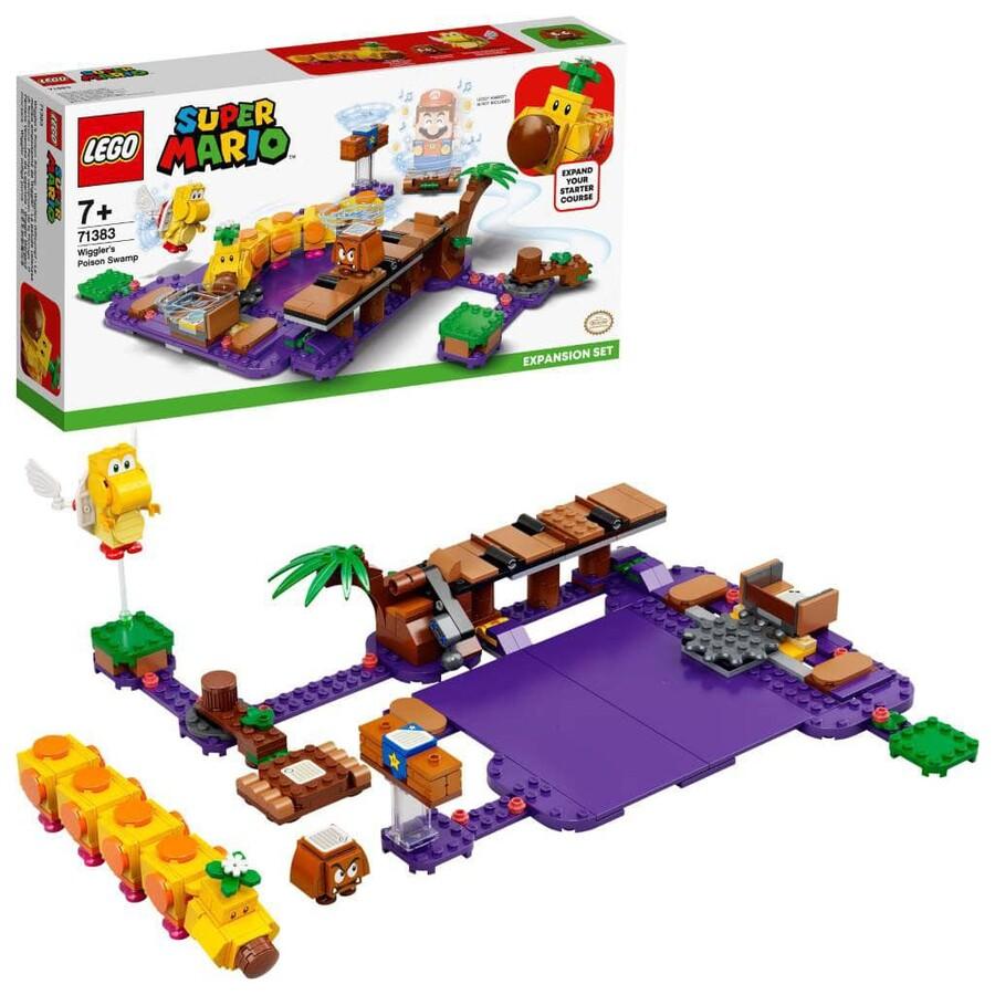 71383 LEGO Super Mario Wiggler'ın Zehirli Bataklığı Ek Macera Seti