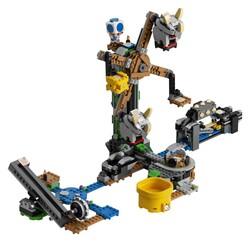 LEGO - 71390 LEGO Super Mario Reznor Son Darbe Ek Macera Seti