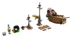 LEGO - 71391 LEGO Super Mario Bowser'ın Zeplini Ek Macera Seti