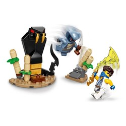 71732 LEGO Ninjago Efsanevi Savaş Seti - Jay ile Serpentine - Thumbnail