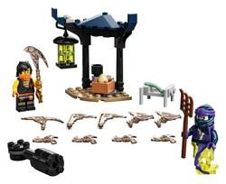 LEGO - 71733 LEGO Ninjago Efsanevi Savaş Seti - Cole ile Hayalet Savaşçı