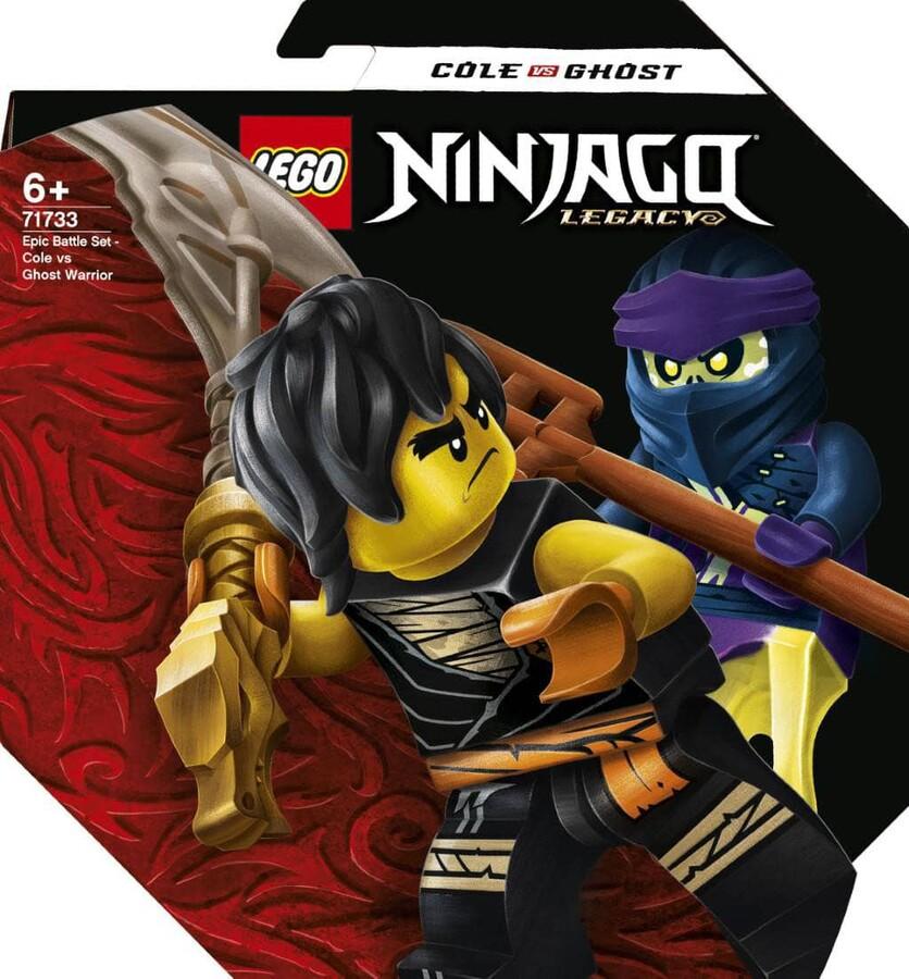 71733 LEGO Ninjago Efsanevi Savaş Seti - Cole ile Hayalet Savaşçı