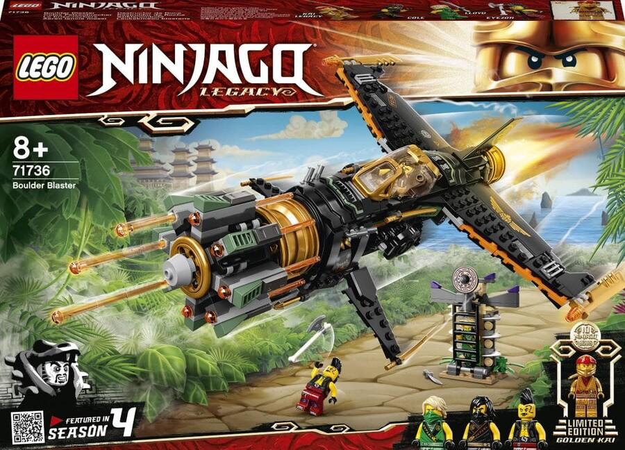 71736 LEGO Ninjago Kaya Patlatıcı