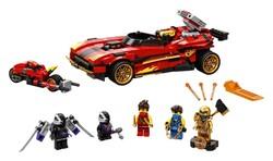LEGO - 71737 LEGO Ninjago X-1 Ninja Turbo Otomobili