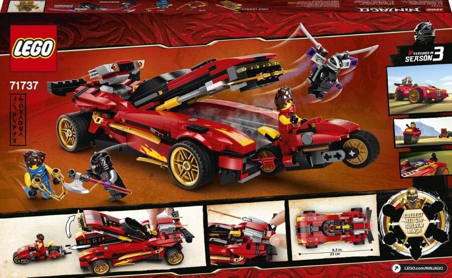 71737 LEGO Ninjago X-1 Ninja Turbo Otomobili
