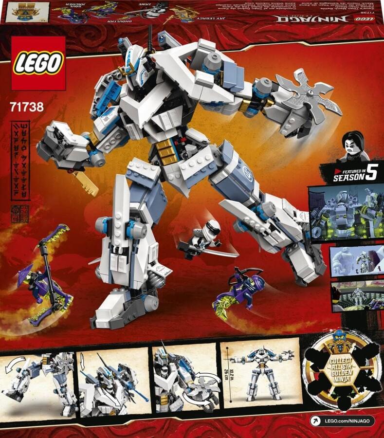 71738 LEGO Ninjago Zane'in Titan Makine Savaşı