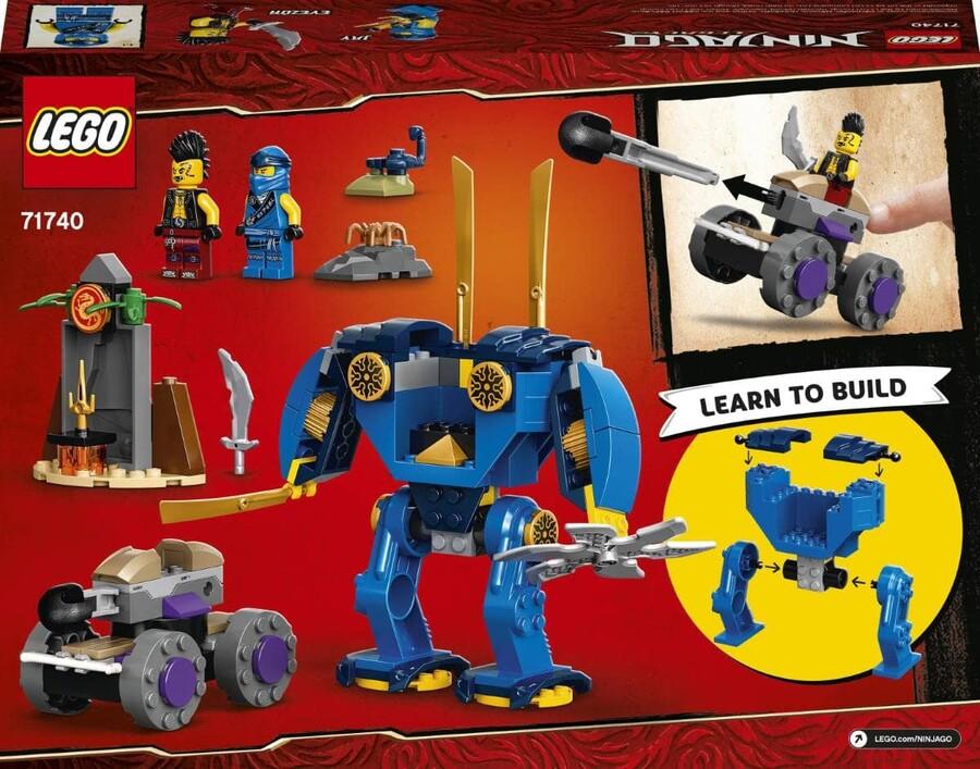 71740 LEGO Ninjago Jay'in Elektro Makinesi