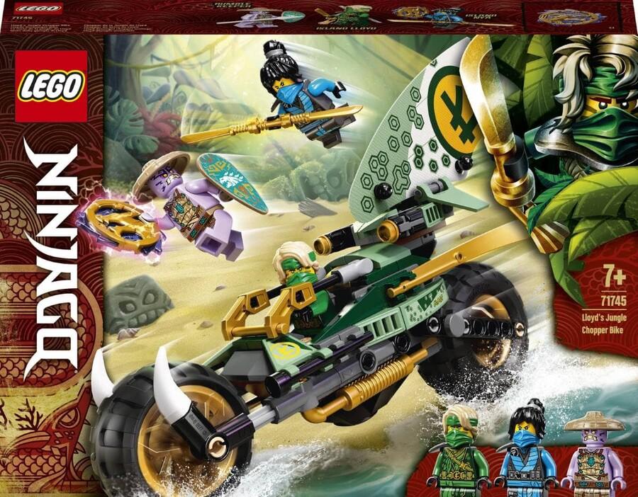 71745 LEGO Ninjago Lloyd'un Orman Motosikleti