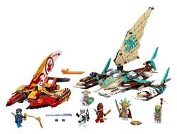 LEGO - 71748 LEGO Ninjago Katamaran Deniz Savaşı