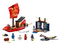 LEGO - 71749 LEGO NINJAGO Destiny's Bounty'nin Son Kaçışı