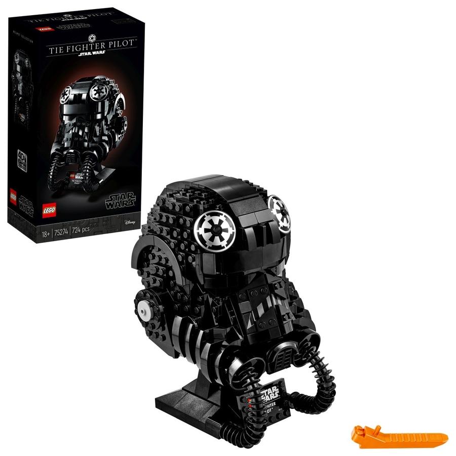 75274 LEGO Star Wars TIE Fighter Pilotu Kaskı