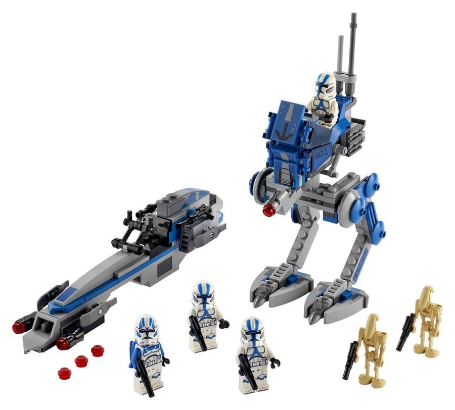 75280 LEGO Star Wars 501. Lejyon Klon Trooperları