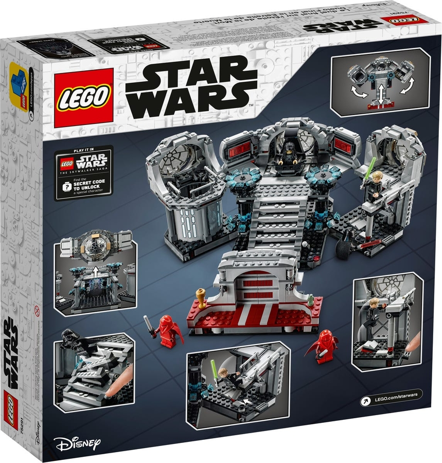 75291 LEGO Star Wars Ölüm Yıldızı Son Düello