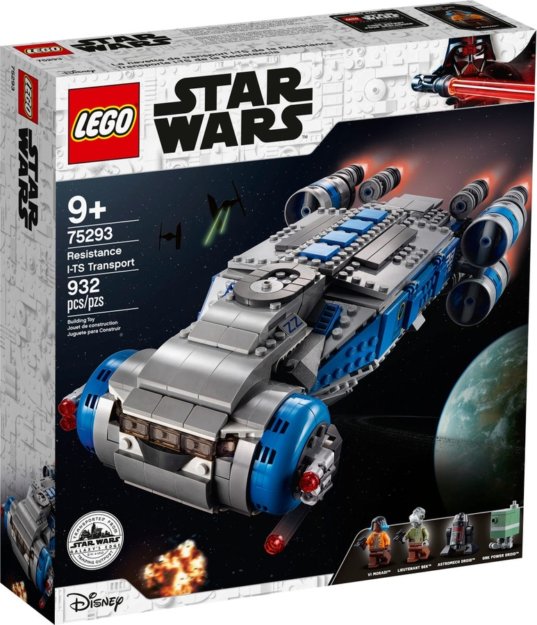 75293 LEGO Star Wars Direniş I-TS Nakliye Gemisi