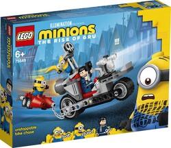 75549 LEGO Minions Durdurulamaz Motosiklet Takibi - Thumbnail