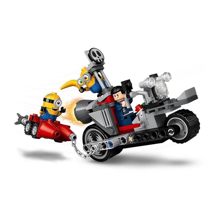 75549 LEGO Minions Durdurulamaz Motosiklet Takibi