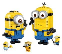 LEGO - 75551 LEGO Minions Parçalarla Yapılan Minyonlar ve Yuvaları