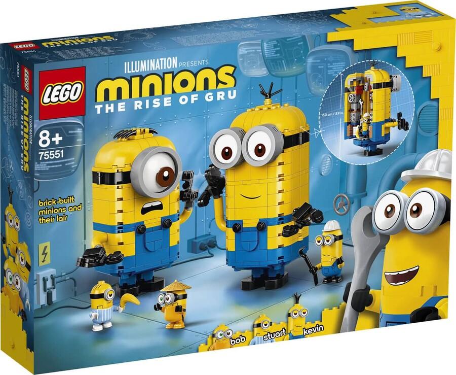 75551 LEGO Minions Parçalarla Yapılan Minyonlar ve Yuvaları