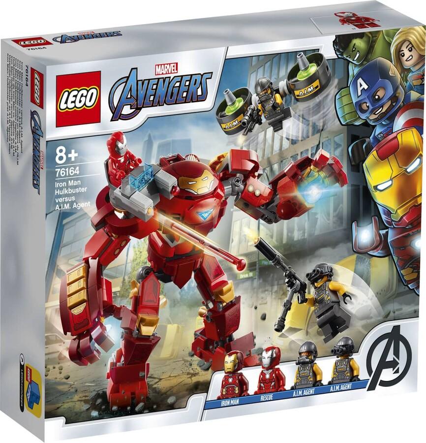 76164 LEGO Marvel Iron Man Hulkbuster A.I.M. Ajanına Karşı