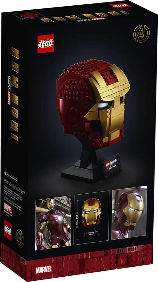 76165 LEGO Marvel Iron Man Kaskı
