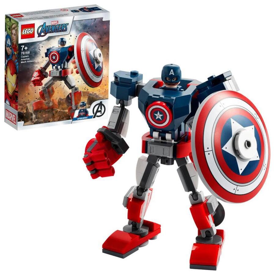 76168 LEGO Marvel Avengers Klasik Kaptan Amerika Robot Zırhı