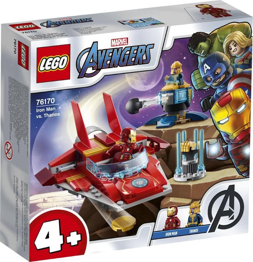 76170 LEGO Marvel Iron Man Thanos'a Karşı