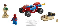 LEGO - 76172 LEGO Marvel Örümcek Adam ve Kum Adam Karşılaşması