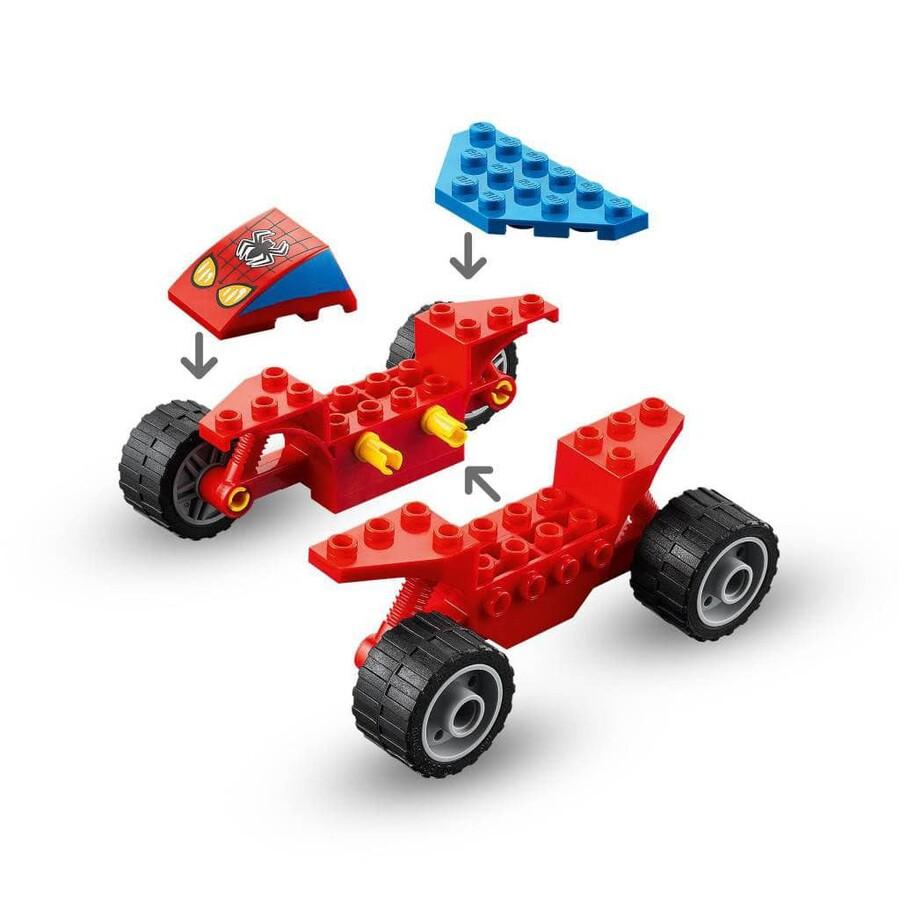 76172 LEGO Marvel Örümcek Adam ve Kum Adam Karşılaşması