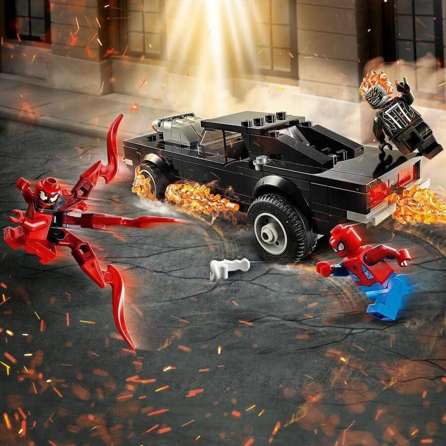 76173 LEGO Marvel Örümcek Adam ile Ghost Rider Carnage'a Karşı