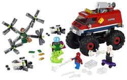 LEGO - 76174 LEGO Marvel Örümcek Adam'ın Canavar Kamyonu Mysterio'ya Karşı