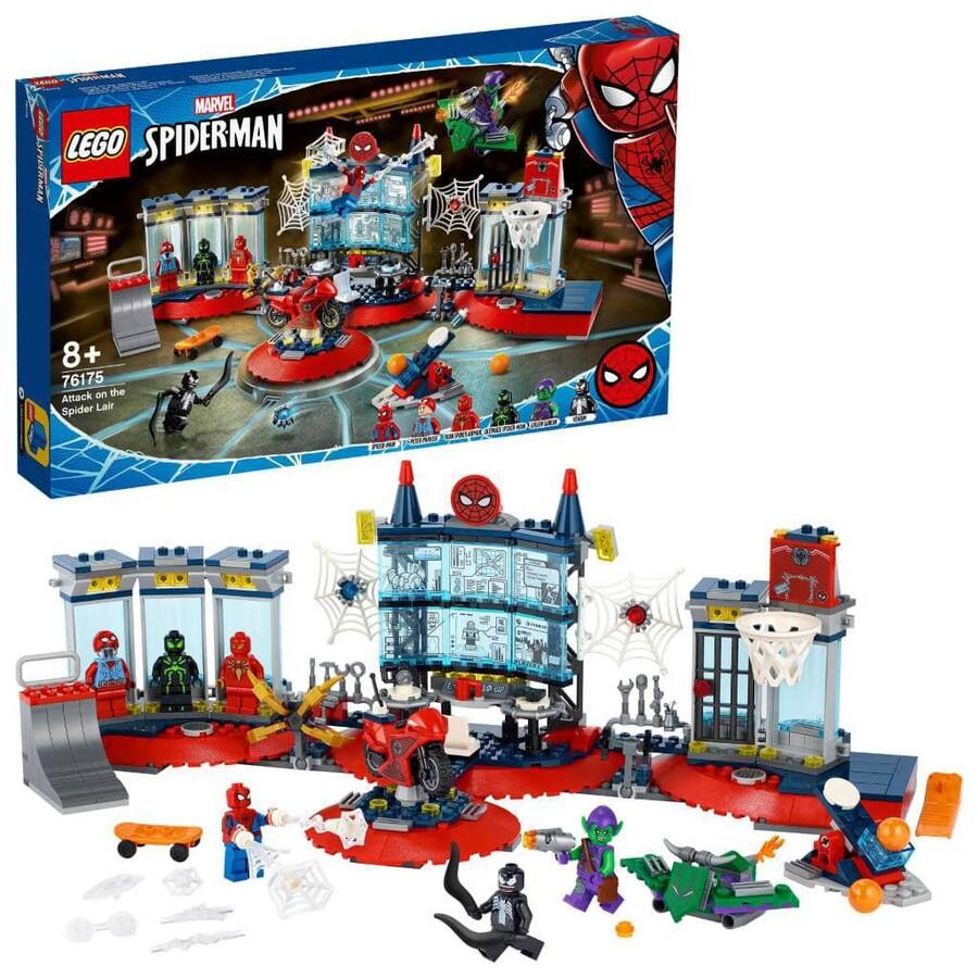 76175 LEGO Marvel Örümcek Yuvasına Saldırı