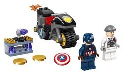 LEGO - 76189 LEGO Marvel Kaptan Amerika ve Hydra Karşılaşması