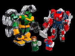 LEGO - 76198 LEGO Marvel Örümcek Adam: Örümcek Adam ve Doktor Oktopus Robot Savaşı